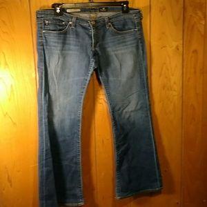 Adriano Goldschmied jeans size 29 x 34 inseam.